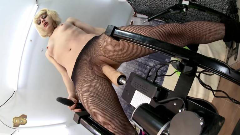 Fucking machines Nora Barcelona HD porn video