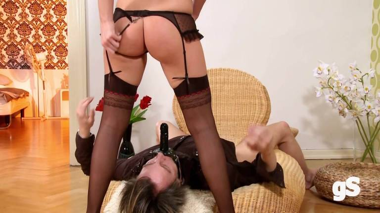This blonde submits her husband to be fucked - GSporn